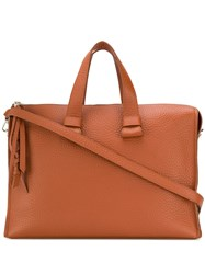 Orciani Classic Tote Bag Brown