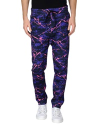 Love Moschino Casual Pants Purple