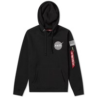 Alpha Industries Space Shuttle Hoody End. Exclusive Black