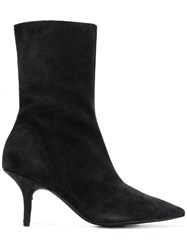 Yeezy Stretch Ankle Boots Black