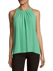 Bcbgmaxazria Pleated Sleeveless Top Newsurf