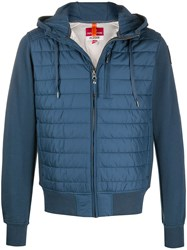 Parajumpers Padded Hooded Jacket Blue