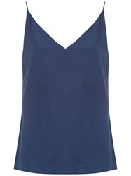 Mara Mac Spaghetti Strap Top Blue
