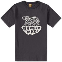 Human Made Polar Bear Tee Black