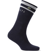 Lacoste Tennis Cotton Blend Tennis Socks Blue