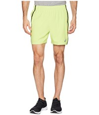 Asics 5 Shorts Neon Lime Heather Green