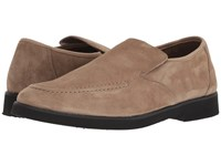 Hush Puppies Bracco Mt Slip On Taupe Suede Shoes