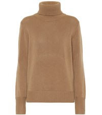 Burberry Embroidered Cashmere Sweater Brown