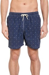 Barbour Flag Swim Trunks Navy