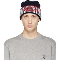 Band Of Outsiders Navy Alpine Beanie