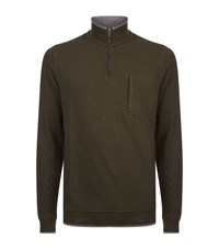 Ted Baker Sons Funnel Neck Jumper Male Green