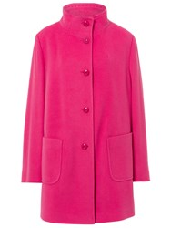Basler Wool Coat With Cashmere Red