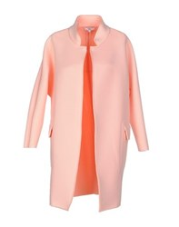 Suncoo Coats And Jackets Full Length Jackets Women Pink
