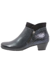 Gabor Ankle Boots River Ocean Dark Blue