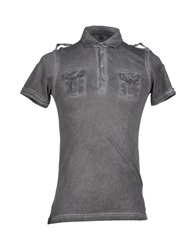 Hamaki Ho Polo Shirts Grey