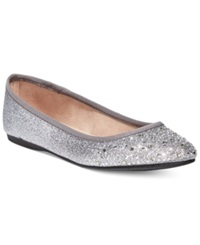 Style And Co. Angelynn Flats Women's Shoes Pewter