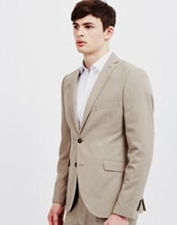 Selected Zac Flint Blazer Grey