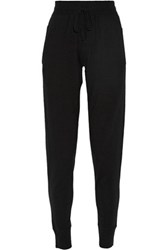 Donna Karan New York Cashmere Blend Track Pants Black