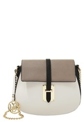 Lydc London Handbag Black Grey White