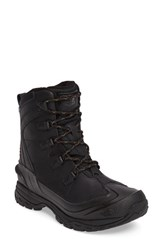The North Face Men's Chilkat Evo Waterproof Insulated Snow Boot Tnf Black Rudy Red