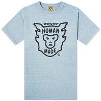 Human Made Face Logo Tee Blue
