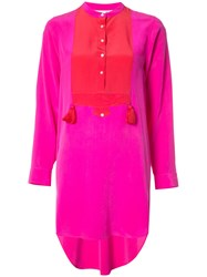 Figue Thalie Tunic Pink And Purple