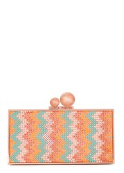 Sophia Webster Clara Crystal Embellished Box Clutch Multicoloured