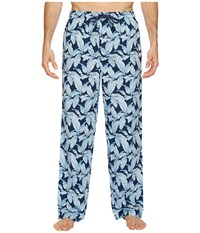 Tommy Bahama Floral Pants Forever Fronds Men's Pajama Blue