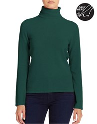 Lord And Taylor Cashmere Turtleneck Sweater June Bug