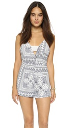 Finders Keepers Midnight Romper Bandana Light