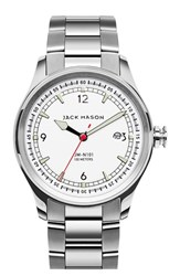 Men's Jack Mason Brand Nautical Bracelet Watch 42Mm