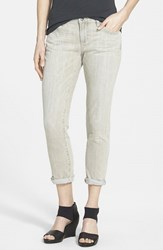 Women's Eileen Fisher Organic Cotton Boyfriend Jeans Velvet Grey