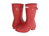 Hunter Original Short Military Red Women's Rain Boots Tan