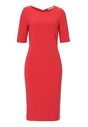Betty Barclay Fine Ribbed Dress Red