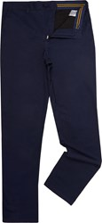 Lyle And Scott Men's Fidra Cotton Stretch Chino Trouser Navy