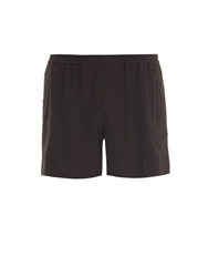 Baja East Relaxed Fit Silk Shorts