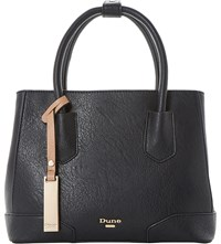 Dune Dipley Tote Bag Black Plain Synthetic