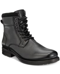 Bar Iii Men's Shep Plain Toe Wool Lined Boots Only At Macy's Men's Shoes Black