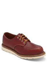 Red Wing Shoes Men's Red Wing Moc Toe Derby Copper 8099
