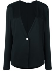 Alexander Wang T By One Button Jacket Black