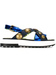 Diesel 'D Alls Low' Sandals Blue