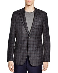Theory Faded Check Slim Fit Sport Coat