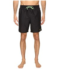 Nike Emboss 7 Volley Shorts Black Men's Swimwear