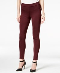 Styleandco. Style Co. Seamfront Ponte Leggings Only At Macy's Dried Plum