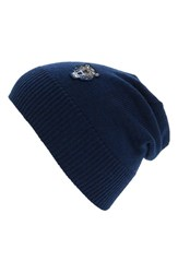 Kenzo Men's Wool Beanie Blue Navy