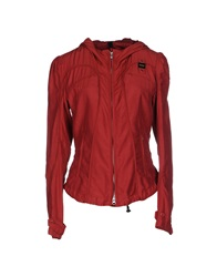 Blauer Jackets Brick Red