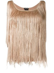 Tom Ford Fringed Top Pink Purple