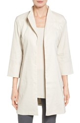 Eileen Fisher Women's Organic Stretch Linen Jacket