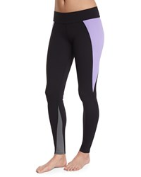 Live The Process Contour Colorblock Sport Leggings Lilac Charcoal Black Lilac Blk Chrcoal