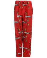 Concepts Sport Men's Louisville Cardinals Sweep Sleep Pants Red